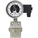 스위치 접점이 있는 차압계 (Differential pressure gauge with switch contacts)